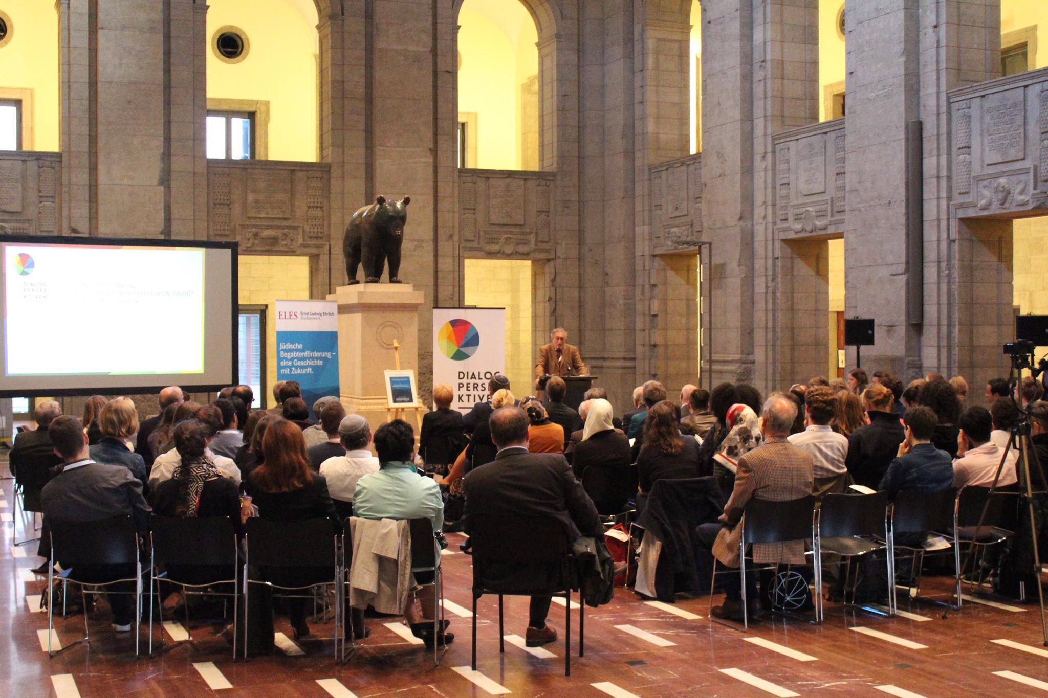 Dialogperspektiven-Auftakt: Micha Brumlik. Bild: Jonas Fegert