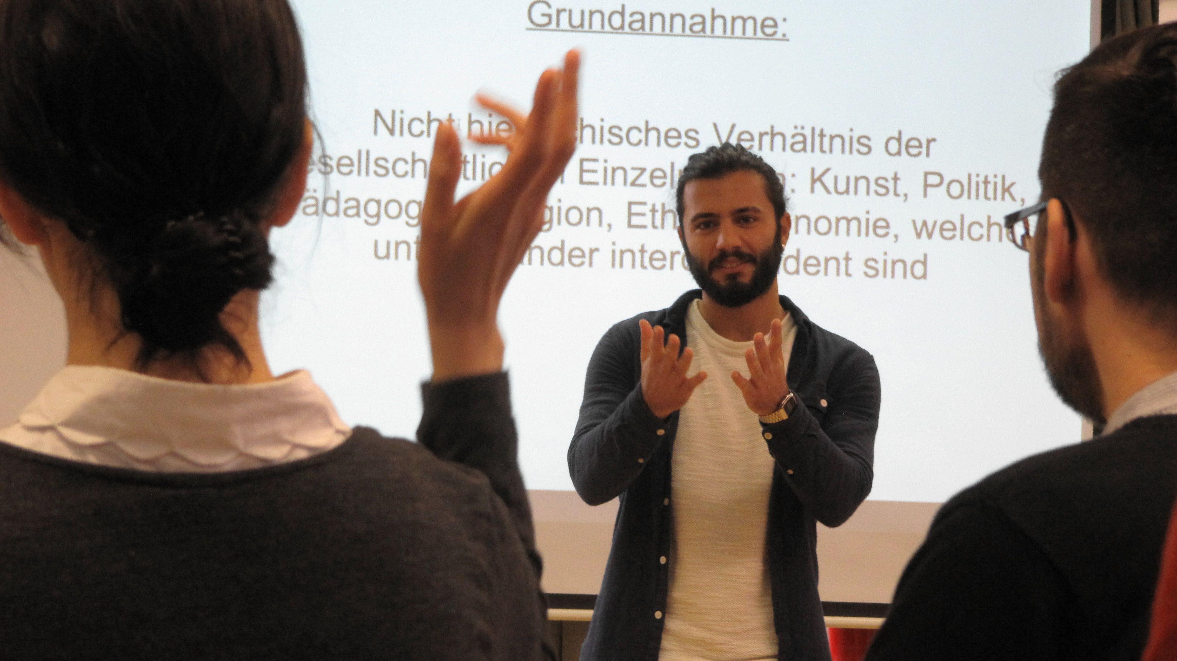 Präsentationen aus den Arbeitsgruppen
