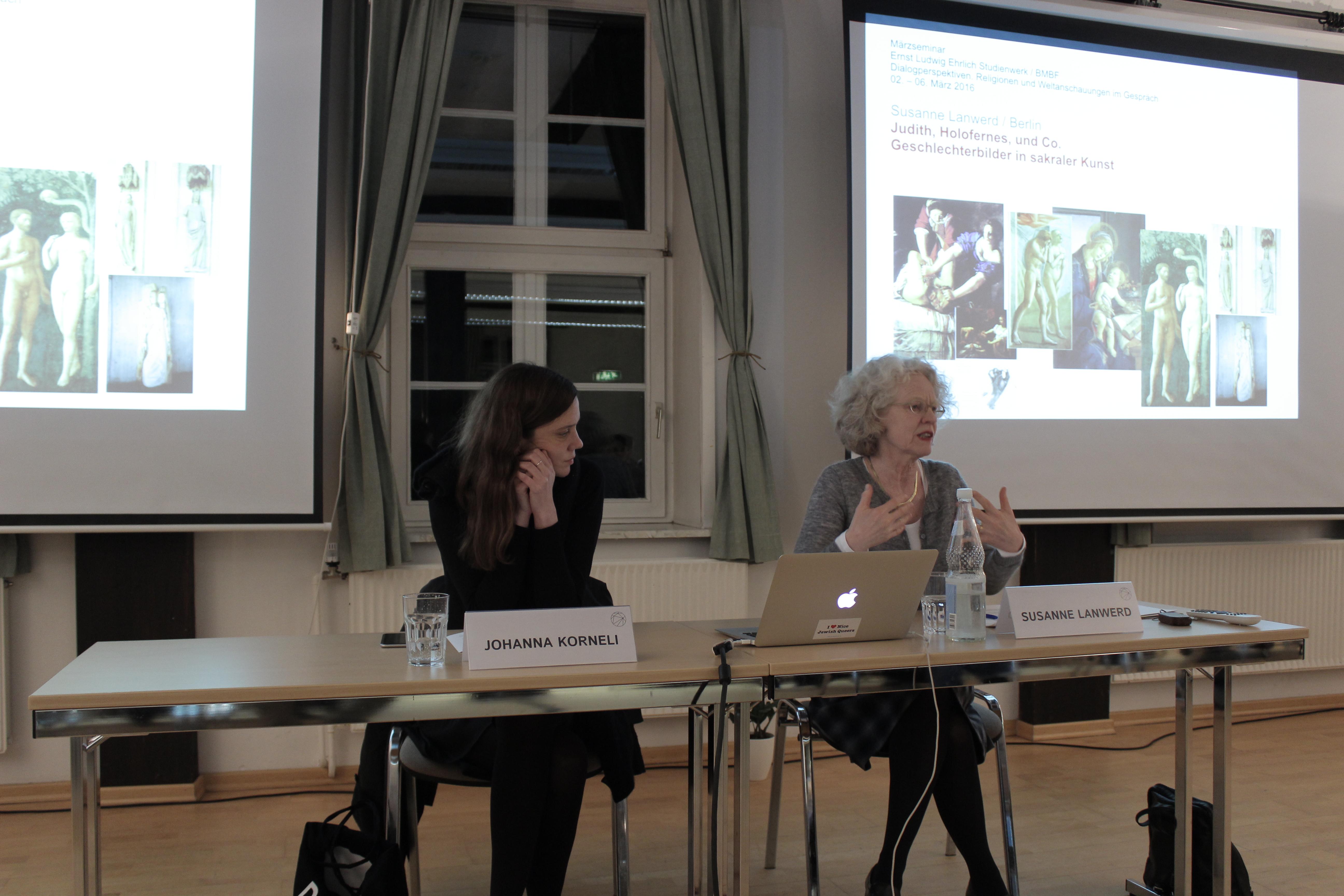 Vortrag von Susanne Lanwerd zu Geschlechterbildern in sakraler Kunst