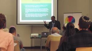 Tag 1: Vortrag von Anantanand Rambacham