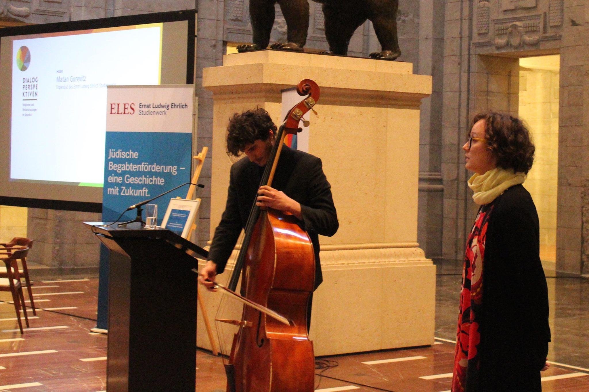 Dialogperspektiven-Auftakt: Musik - 'Matan und Gurevitz'. Bild: Jonas Fegert