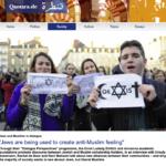 """Jews are being used to create anti-Muslim feeling"" -quantara"