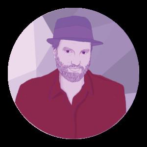 Daniel Kahn, Musiker, Künstler, Regisseur und Schauspieler.