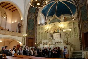 Begrüßung der Teilnehmer_innen, Besichtigung der Synagoge Rykestraße