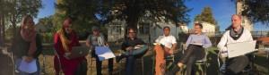 Tag 3: Arbeitsgruppen im Schlossgarten